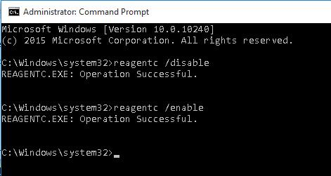 reagentc enable