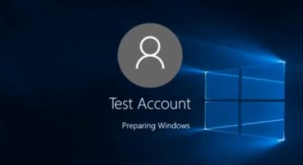 Preparing Windows (Идет подготовка Windows)