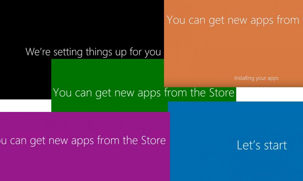 Анимация в Windows 10 при первом входе пользователя в систему