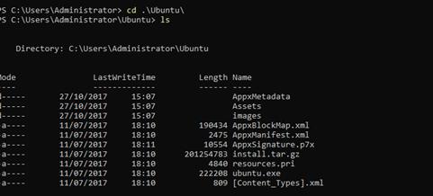 Expand-Archive ~/Ubuntu.zip ~/Ubuntu