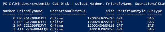 HKEY_LOCAL_MACHINE\SYSTEM\CurrentControlSet\Services\arcsas\Parameters - BusType SAS