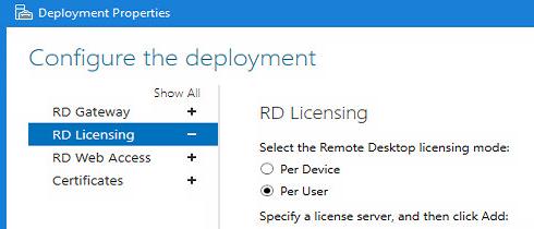 rds deployment