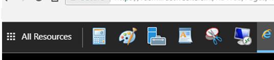список RemoteApps в браузере html5
