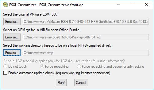 ESXi-Customizer