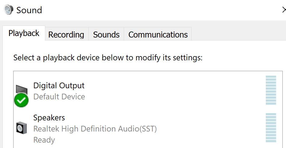 Digital Output вывод звука при miracast вещании