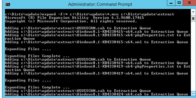 установка cab файлов обновления .net framework
