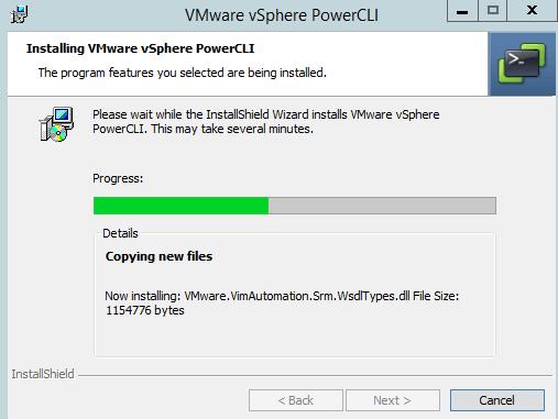 vmware vsphere powercli установка