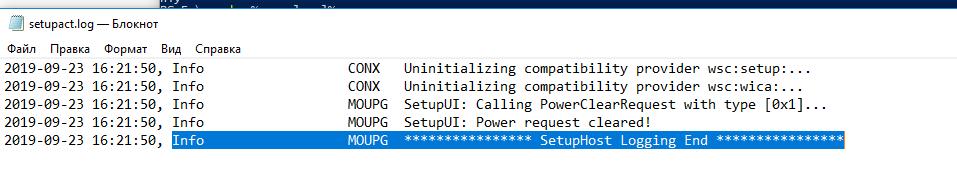 C:\$Windows.~BT\Sources\Panther\setupact.log