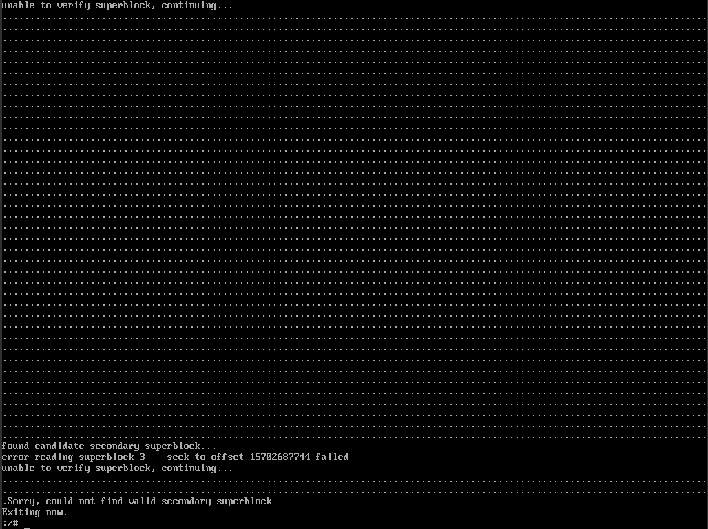 qemu-img resize уменьшение диска в kvm ломает файловую систему