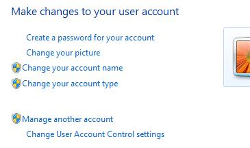управление User Account Control