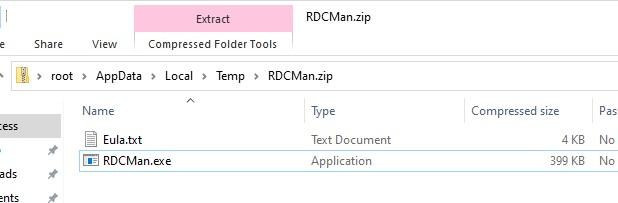 установка rdcman в windows 10