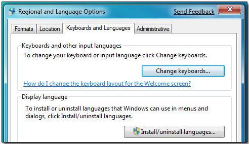 Налаштування російського ітерфейсом в Windows 7
