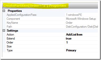 description: create partition