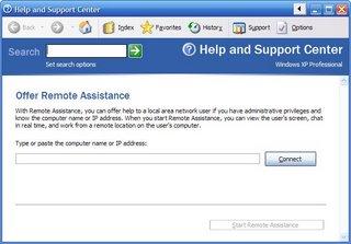 Remote Assistance в Windows 7