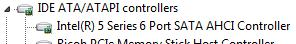 Проверка поддержки AHCI в Windows 7