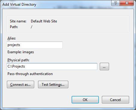 Открыть доступ к каталогу в WebDAV