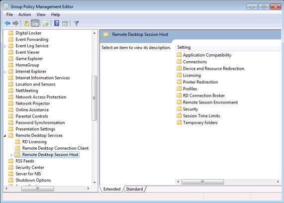 Групповые политики обеспечения безопасности в Remote Desktop Services