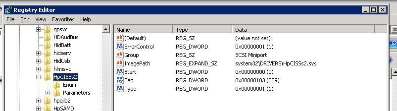 Определеяется драйвер по sys файлу