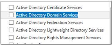 Установка ролі Active Directory Domain Services в Win2012