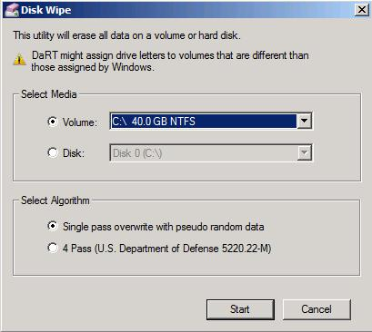 Disk Wipe - надежное удаление данных