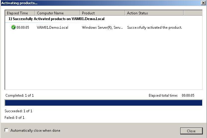 windows активирован с помощью vamt