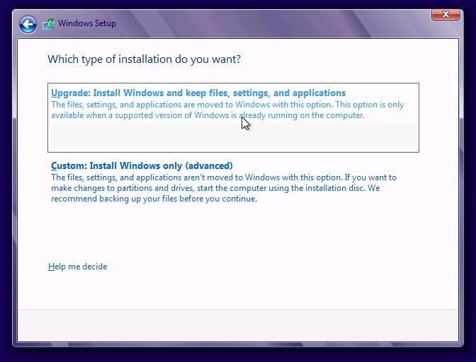 Обновление windows 7 до Windows 8 с сохранением настроек