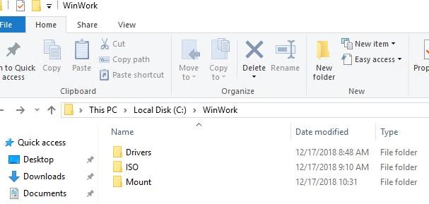 интеграция обновления в iso образ windows 10