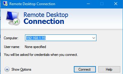 mstsc.exe стандартный rdp клиент windows