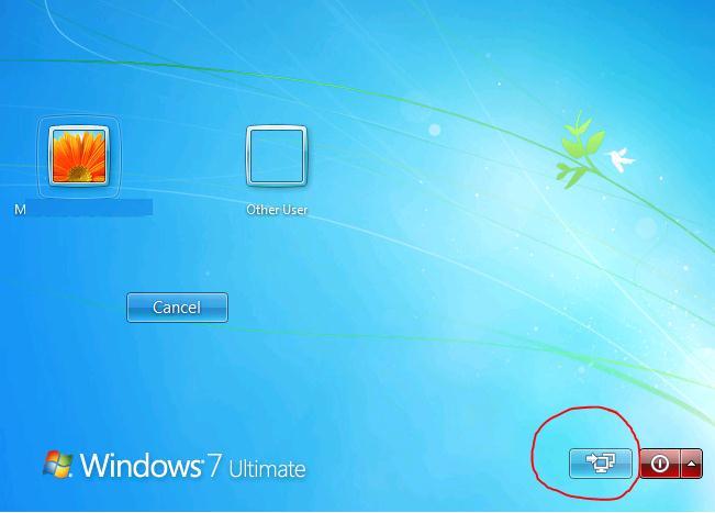 vpn подключение в windows 7 на экране входа в систему