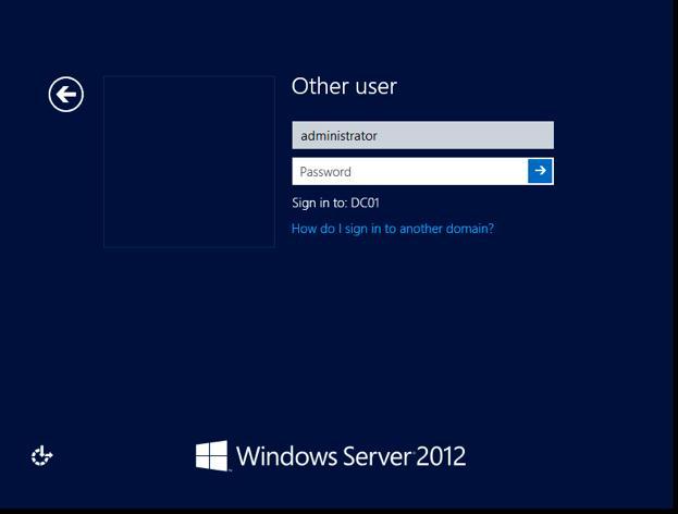 Сброс пароля администратора active directory