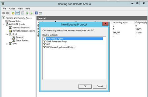 dhcp relay agent в Windows Server 2012
