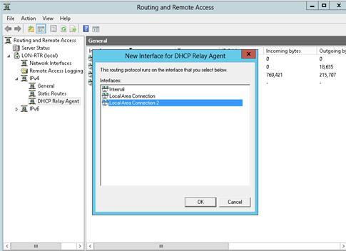 Мережевий інтерфейс dhcp ретранслятора