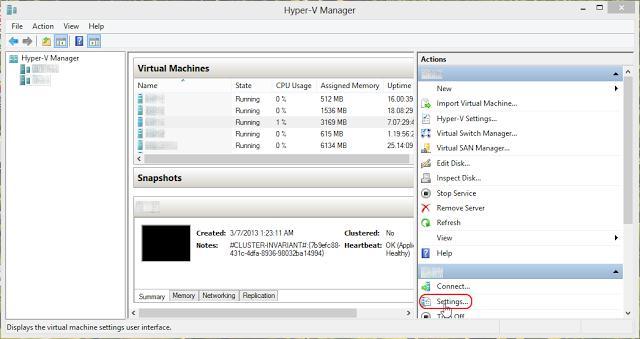 Налаштування віддзеркалення портів в ms hyper-v 2012