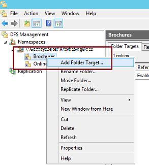 Настройка dfs репликации в windows server 2012