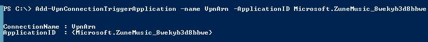 Прикрепть VPN профиль к Metro приложению Windows 8.1