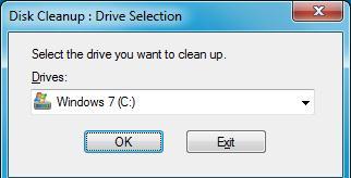 Оновлення kb2852386 для очищення диска в windows 7