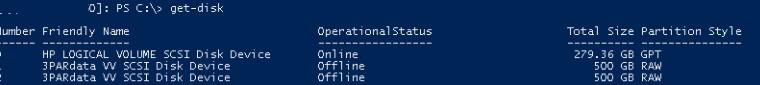 windows server видит дубли LUN дисков при подключении без mpio