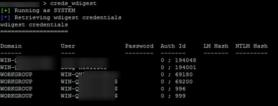 mimikatz creds_wdigest не работает в Windows 8.1 / 2012 R2 и выше