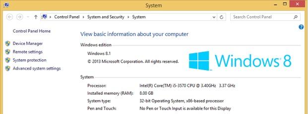 windows 8.1 x86 как использовать более 4гб памяти