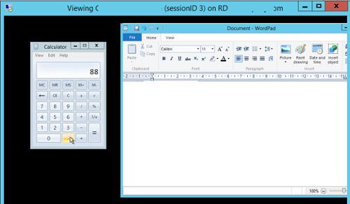 удаленное управление терминальной сесией пользователя в rds windows server 2012r2