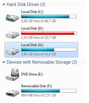 Как сделать, чтобы usb флешка определялась в системе как жесткий диск