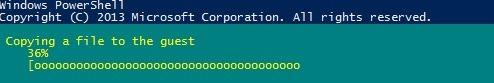 Copy-VMFile - копіюємо файл всередину віртуальної машини Hyper-V за допомогою Powershell