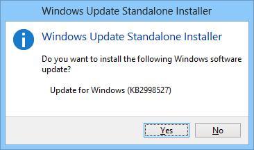 Windows установка обновления часовых поясов kb2998527