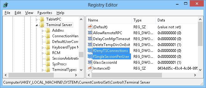fSingleSessionPerUser снять ограничение на одну сессию для пользователя