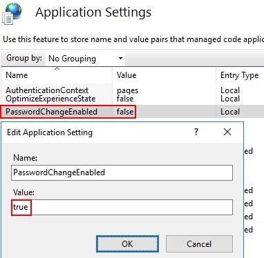 PasswordChangeEnabled - опция смены пароля через веб страницу на Remote Desktop Web