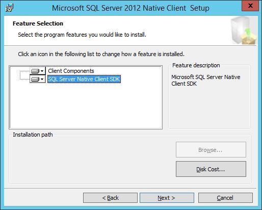 Власний клієнт SQL Server