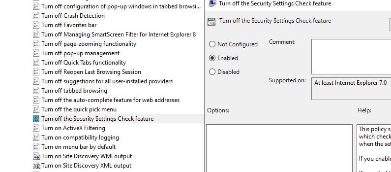 отключить проверку при открытии небезопасных файлов в windows