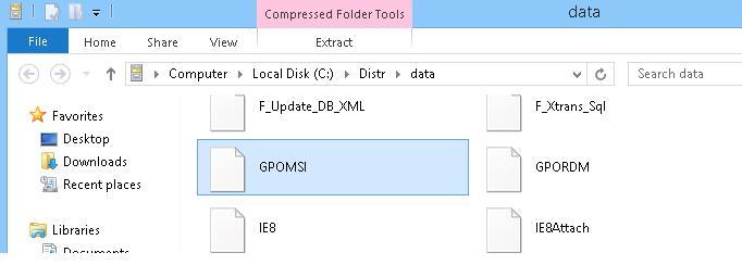 GPOMSI нужно переименовать в GPO.msi
