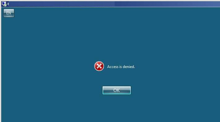 Remote Desktop Services - Access is denied