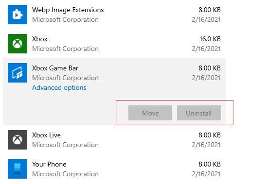 невозможно удалить защищенные приложения в windows 10